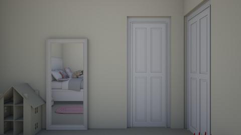 sophies new room - Kids room  - by Vanburenam