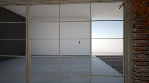 HIGH TECH HOMEWORK - Living room  - by Juliana Fernandez
