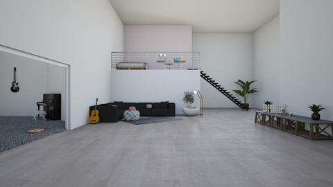 unfinished - Living room  - by logz mcw