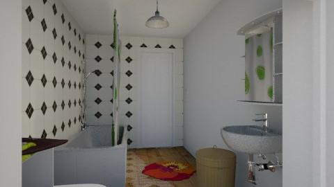 MF Bathroom - Bathroom - by InkyThoughts