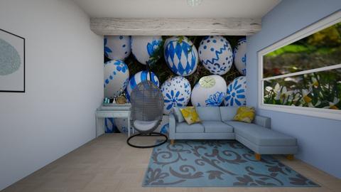easter room - Living room  - by E21