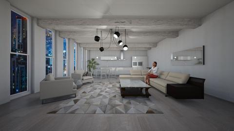 Kitchen1 - Living room - by Sueda