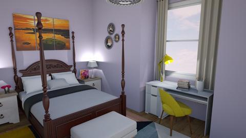 gentle - Eclectic - Bedroom  - by sonakshirawat175