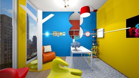 Bauhaus Studyroom - Office  - by jrgerye707
