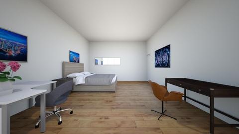 Example Room 9 Design - Modern - Bedroom  - by mahonsta