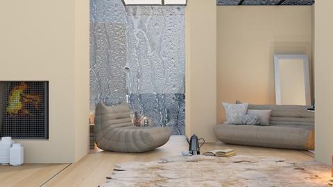 Rainy Beige - Living room  - by ilikalle