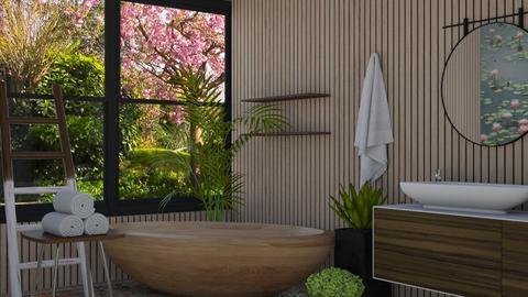 lily pond - Bathroom  - by rebsrebsmmg