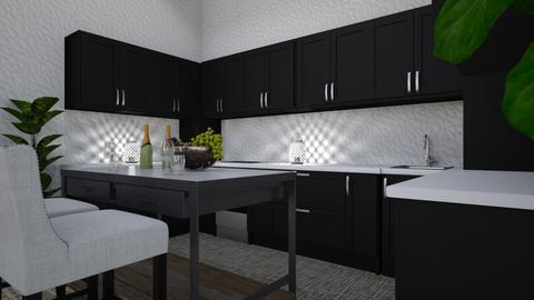 Apartment Kitchen - Modern - Kitchen  - by millerfam