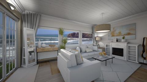 Beach Living Room - Living room  - by smhewitt
