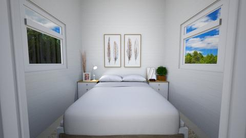 Bed_Minimalist Tiny - Minimal - Bedroom  - by deleted_1599664823_fatihafitra