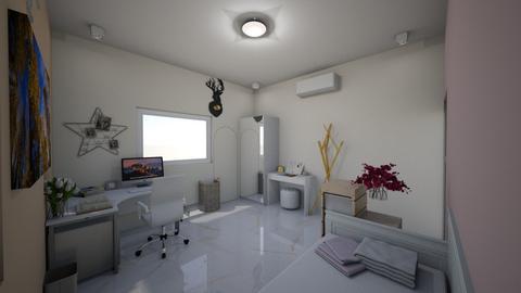 Bedroom - Minimal - Living room  - by Ruangsri