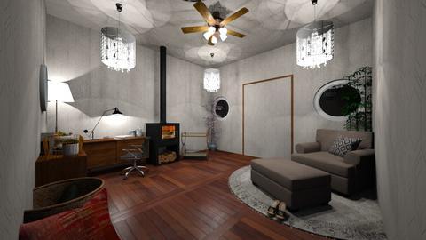 girl - Living room - by yukicrossnowblood