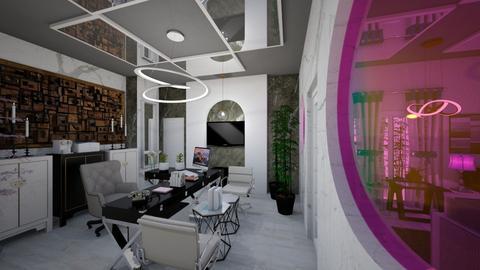 Office_Reception_Interior_2_Spaces_ - Modern - Office - by Nikos Tsokos