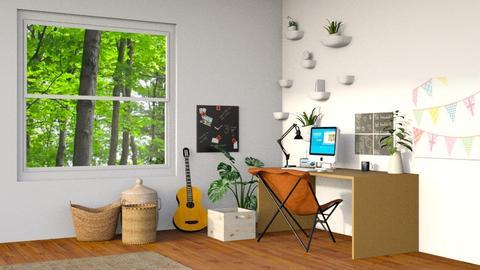 Cute Office - Modern - Office  - by CitrusSunrise