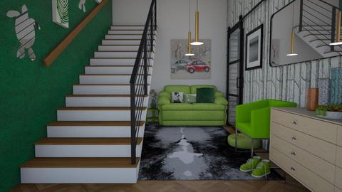Hallway - by morganteubel