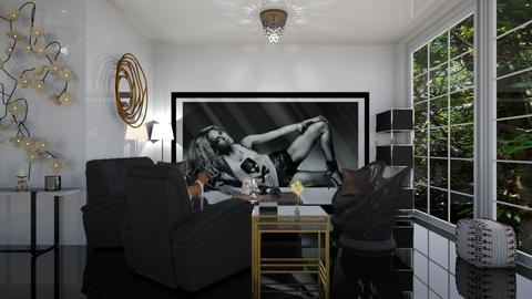 House for Beyonce - Glamour - Living room  - by rechnaya