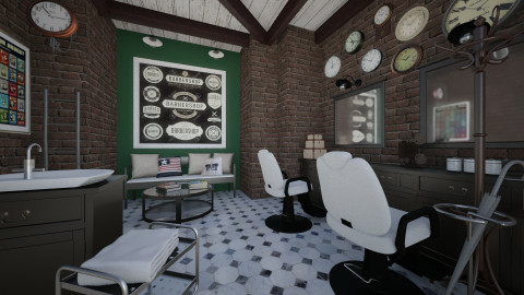barber - Retro - by Senia N