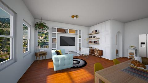 alive living space - Eclectic - Living room - by YourSisterTho