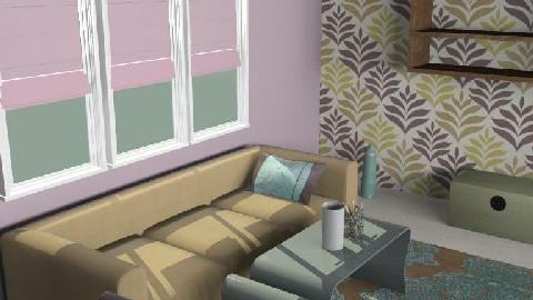 A Room purp1 - Retro - Living room  - by ani_kapanova