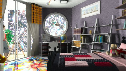 cosmo bear - Modern - Kids room  - by Veny Mully