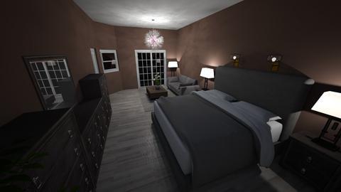 Our rustic room - Rustic - Bedroom  - by BrookieCookieBarrett