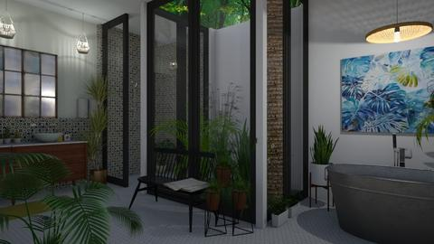 Bathroom - Eclectic - Bathroom  - by Annathea