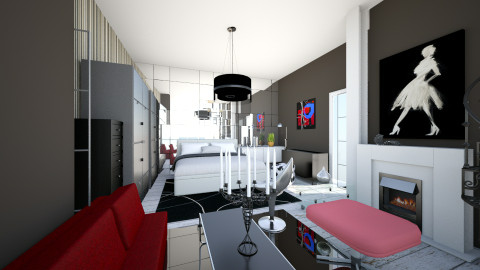 suite c - Eclectic - Bedroom  - by TaxiMarcilla TaxM