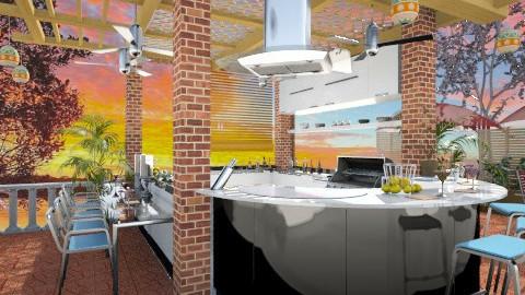 Grill & BBQ - Modern - Garden  - by Bibiche