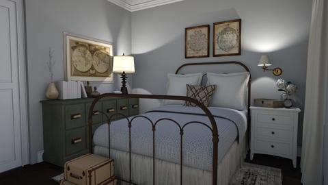 Guest Room - Vintage - Bedroom  - by hannxhgrace