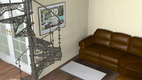 Modern Living (Single) - Retro - Living room  - by GeeChan