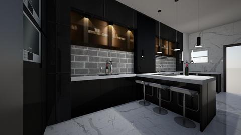 chibueze ref raymond - Kitchen  - by jfx