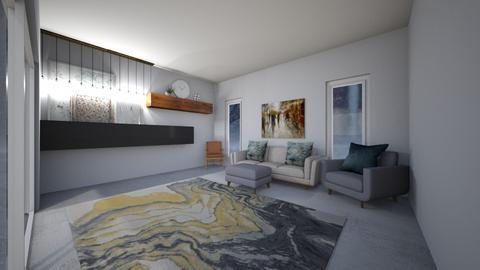 Rainy room - Living room  - by llamaperson