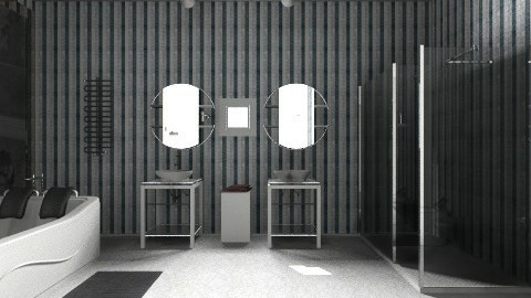 His and Hers - Classic - Bathroom  - by Matthew Trudell
