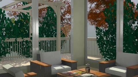 per tylor 1.1 deck trees 2 - Minimal - Garden  - by bralston
