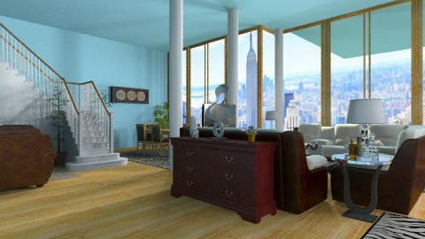great space loft - Minimal - Living room - by ferguesfalls