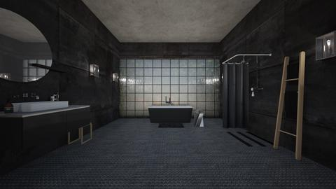 minimalist bath - Minimal - Bathroom - by kitty