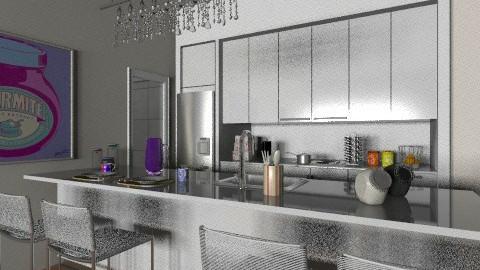 NY flat kitchen - Classic - Kitchen  - by Maria_Julia