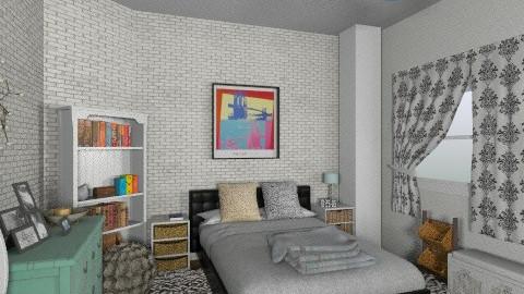 Young bedroombbbb - Feminine - Bedroom - by Marxipan