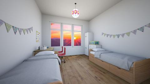Streamers - Classic - Kids room  - by Twerka