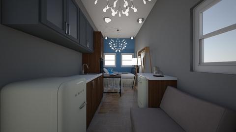 tiny house on wheels - Feminine - Living room - by smurfzilla2