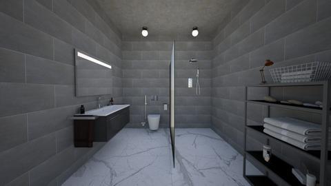 isha - Bathroom  - by kazishidota30