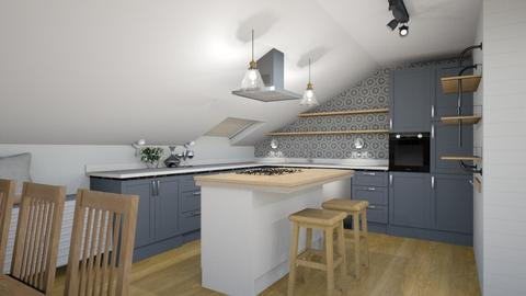Ucman_Klopcic plan1_3 - Kitchen  - by Petja1980