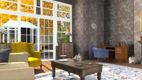 Old fashioned girl 4 - Vintage - Living room  - by mrschicken