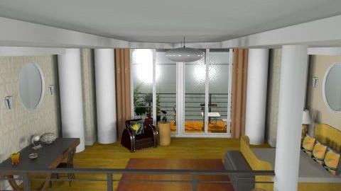 deco bedroom - Classic - Bedroom  - by brianclough