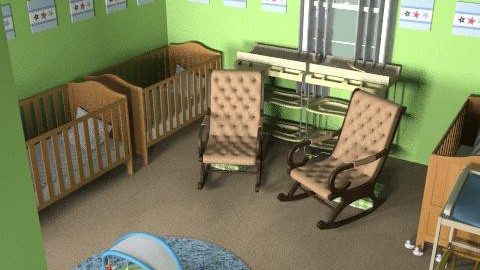 Nursery - Minimal - Kids room - by natural11