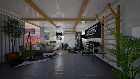 Modern Sport Room - Modern - Bedroom  - by Hazelnut10
