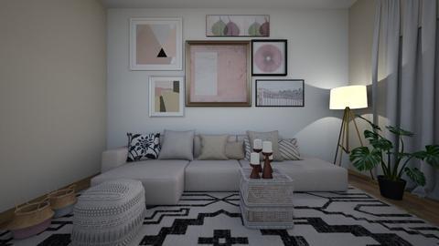 In PInk - Modern - Living room  - by florence saar