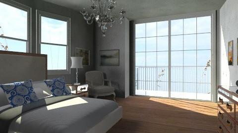 cottage comfort - Vintage - Bedroom  - by aga512817