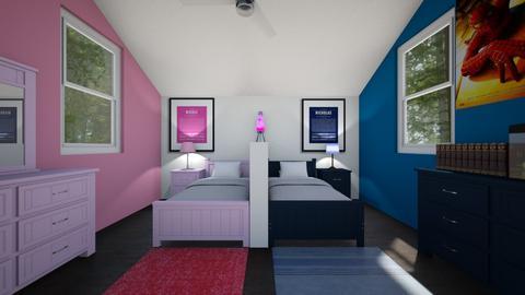 Nicole and Nicholas - Kids room  - by SammyJPili
