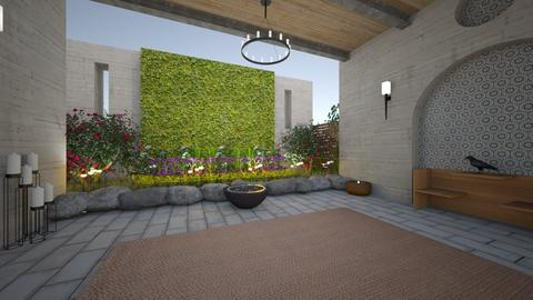 english castle inspired - Modern - Garden  - by kat1016